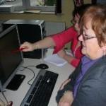 Barbara donnant cours à Agnès