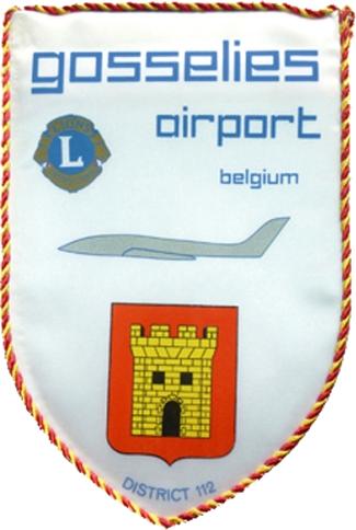 Lion's Gosselies airport, logo