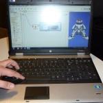 Le logiciel pilotant les gestes du robot Nao de Microsoft