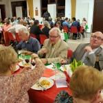 Table Francis Lerant, Angela Zambito et Christine Busigny, vue générale de la salle