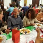 Table stagiaire Fabrice Gand, Cyrille Vandeput, Karen