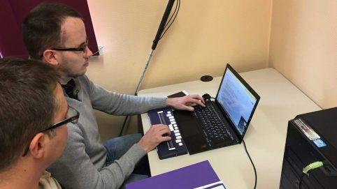Handicapé Visuel Formation Emploi