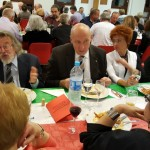Table Angela Zambito, Table Béatrice Francq, Georges Dudome, Mariette Babusiau