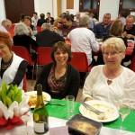 Table Angela Zambito, Béatrice Francq, Mariette Babusiau et Georges Dudome